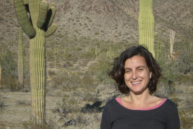 Irene Pérez, investigadora ARAID